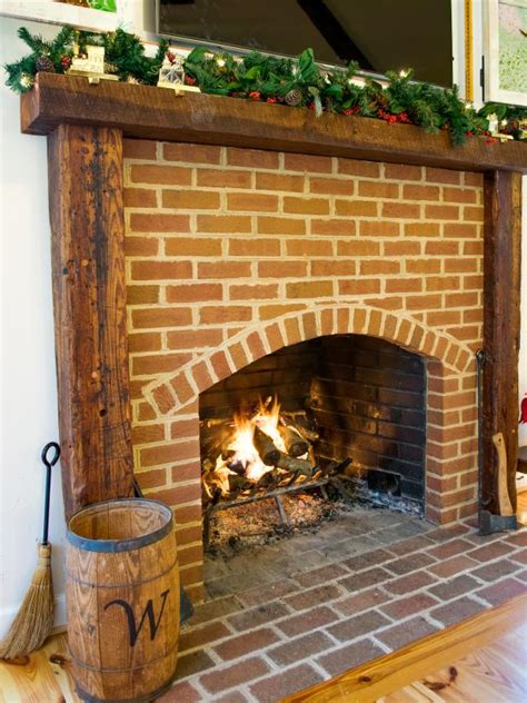 build  fireplace mantel  reclaimed timbers