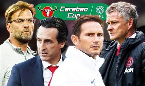 What Carabao Cup draw means for Man Utd, Chelsea ...