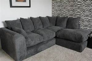 Cord Sofa : scs jumbo cord corner sofa grey brand new 300 on gumtree ~ Pilothousefishingboats.com Haus und Dekorationen