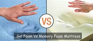 gel foam mattress vs memory foam do they really differ