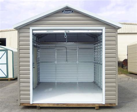 Storage Shed Plans 8x12 by Metal Storage Sheds Amp Metal Buildings Leonard Buildings