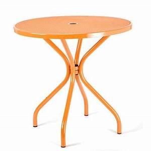 Petite Table Ronde De Jardin : petite table ronde de jardin l 39 habis ~ Dailycaller-alerts.com Idées de Décoration