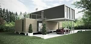 Container Haus Architekt : wunderbare wohnhaus aus containern in container haus wohncontainer modernen 13 ~ Yasmunasinghe.com Haus und Dekorationen
