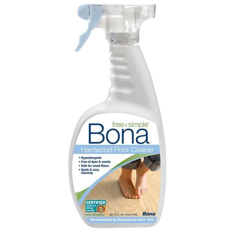 upc 737025005771 bona free and simple 32 fl oz hardwood floor cleaner upcitemdb