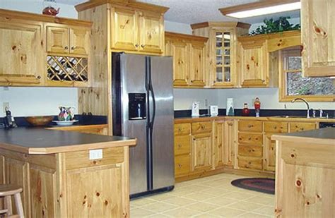 knotty pine kitchen cabinets for pine kitchen cabinets original rustic style kitchens 9644
