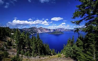 Crater Lake Oregon Wallpapers National Jezioro Park