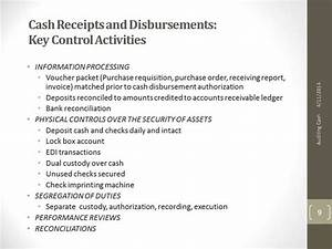 Peddy Cash Cash Receipts Disbursements Key Control Activities Youtube