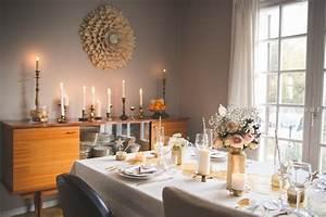 Idee Deco De Table Noel : une d co de table de no l blanc et or vintage sous notre ~ Zukunftsfamilie.com Idées de Décoration