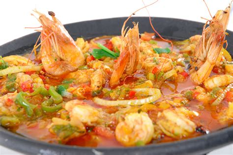 braisi鑽e cuisine shrimp stew typical food casablanca turismo