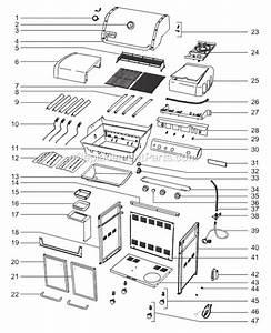 Weber 6570001 Parts List And Diagram   Ereplacementparts Com