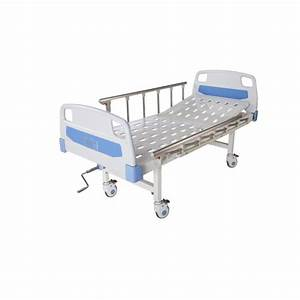 China Manual Single Crank Punching Hospital Bed