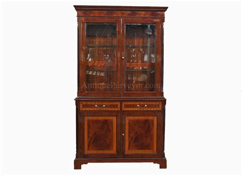 pictures of china cabinets two door high end mahogany china cabinet on sale