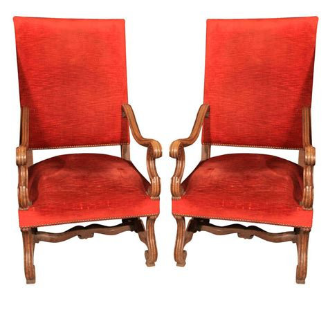 louis xiv style high back chairs at 1stdibs