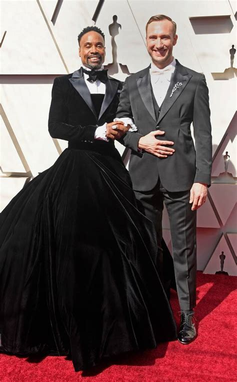 Billy Porter Adam Smith From Oscars Red Carpet