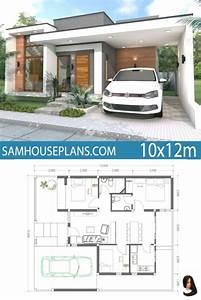 3, Bedroom, Home, Plans, 2021