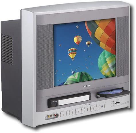 "Best Buy: Toshiba 14"" FlatTube TV/VCR/DVD Player Combo MW14F51"