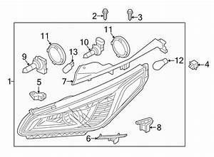 2016 Hyundai Sonata Composite Assy  Headlamp Assy