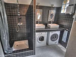 17 meilleures idees a propos de seche linge sur pinterest With porte de douche coulissante avec seche linge salle de bain