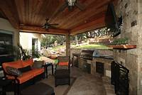 fine patio porch design ideas Entertain Friends and Family with a Luxury Outdoor Kitchen ...