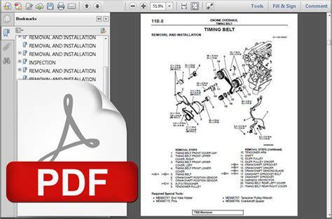 service manuals schematics 2000 mitsubishi montero sport electronic valve timing 2000 2001 2002 2003 2004 mitsubishi montero sport factory service repair manual service