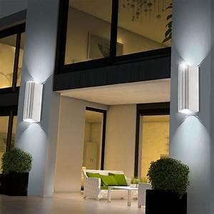 Up And Down Lampen Aussen : 3er set led au en haus leuchten up and down spots ~ Whattoseeinmadrid.com Haus und Dekorationen