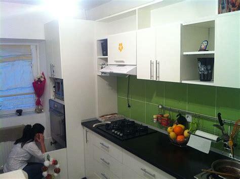 kitchen backsplash colors reader 39 s project green kitchen backsplash and white cabinets