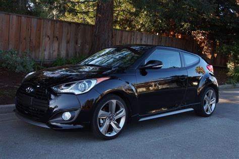 hyundai veloster turbo blacked out black hyundai veloster black hyundai pinterest