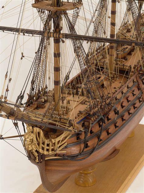 close views  ship model royal louis