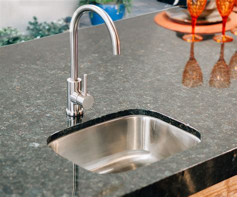 Under Mount Sink With Faucet For Your Outdoor Kitchen