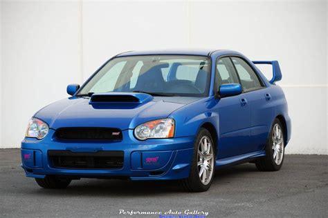 Subaru Impreza Wrx Sti For Sale by 2004 Subaru Impreza Wrx Sti For Sale 2151512 Hemmings