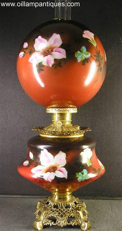 Lamp Oil Antique Parlor Lamps Globe Kerosene