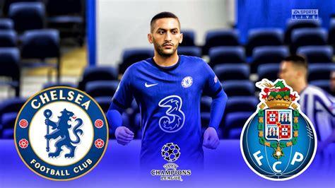 FIFA 21 - Chelsea vs FC Porto   UEFA Champions League ...