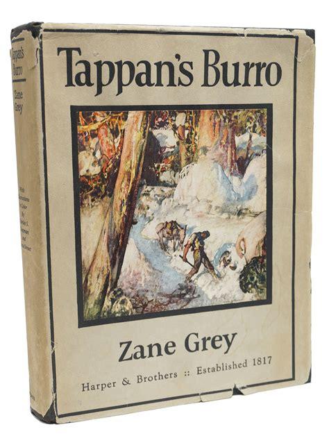 Zane Grey Books Tappan S Burro By Zane Grey First Edition 1923 From