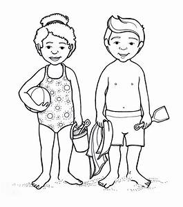 Body Parts Coloring Pages For Kids - Coloring Home
