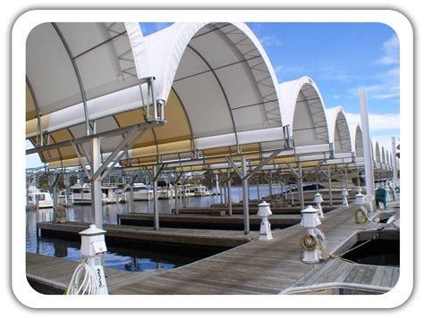 Boat Building Facility by Marina Covers And Boat Storage Fabric Buildings