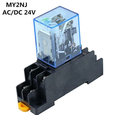 Pin Mynj Relay Small Dpdt Coil With