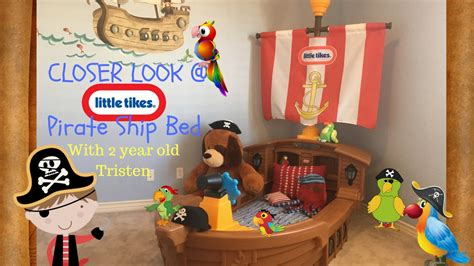 Tikes Pirate Ship Bed by A Look At The Tikes Toddler Pirate Ship Bed