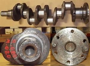 R  F  Engine Ford Crankshaft Remachined 220 0 20 Rods    0