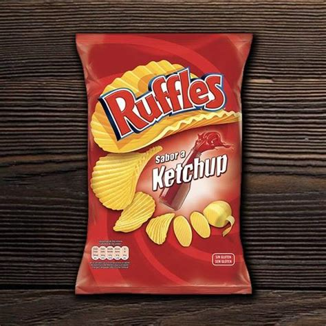 Ruffles Brand Presunto or Ketchup Flavored Chips ...