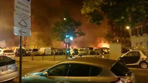 14 07 2015 un incendie br 251 le 26 voitures porte de cloud avenue marcel doret 16em