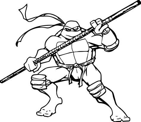 Teenage Mutant Ninja Turtles Free Coloring Pages