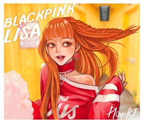 Anime style lisa blackpink cartoon. Blackpink Fanart - INFO DAN TIPS