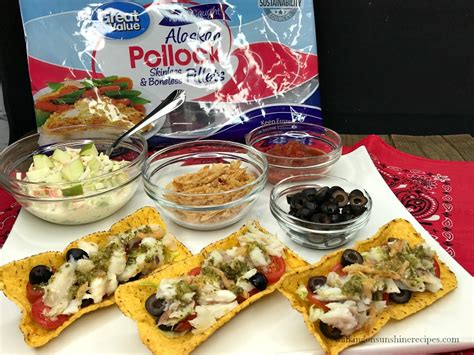 Taco Boats Coles by Kid Friendly Fish Tacos Made With Alaska Pollock Dinner
