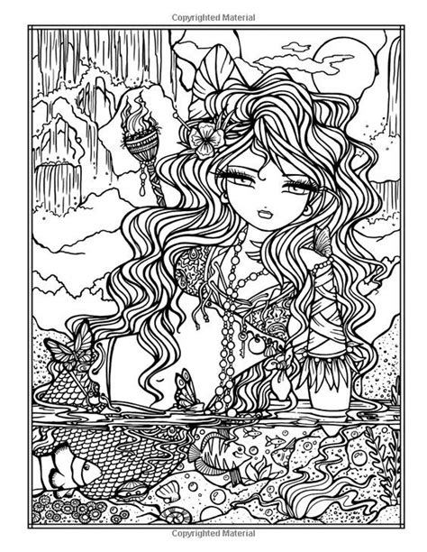 Coloring page | Mermaid coloring pages, Fairy coloring