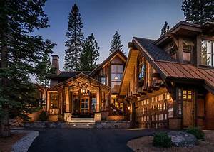 Mountain Cabin Overflowing With Rustic Character And