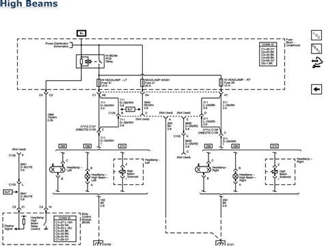 2011 Gmc Light Wiring Diagram by Repair Guides Lighting 2007 Headlights Daytime