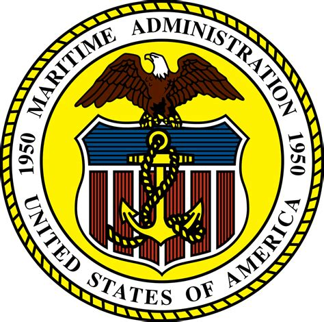 us department of state bureau of administration file us maritimeadministration seal svg