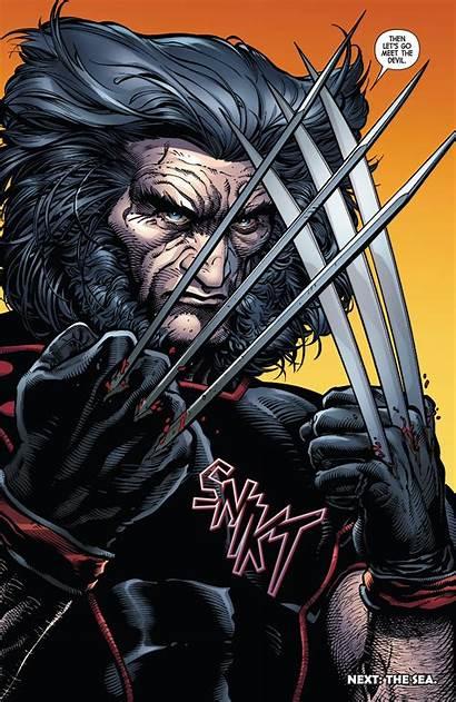 Wolverine Return Comic Marvel Comics Logan Does