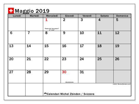 calendario annuale 2019 da stare gratis calendario maggio 2019 svizzera michel zbinden it