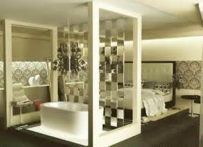 interior partitions for homes glass partition wall design ideas and room dividers separating modern bedrooms from bathrooms